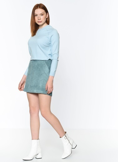 Vero Moda Sweatshirt Mavi